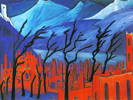 Marianne von Werefkin quotes, on her colorful painting art & artist life - free resource: modern art