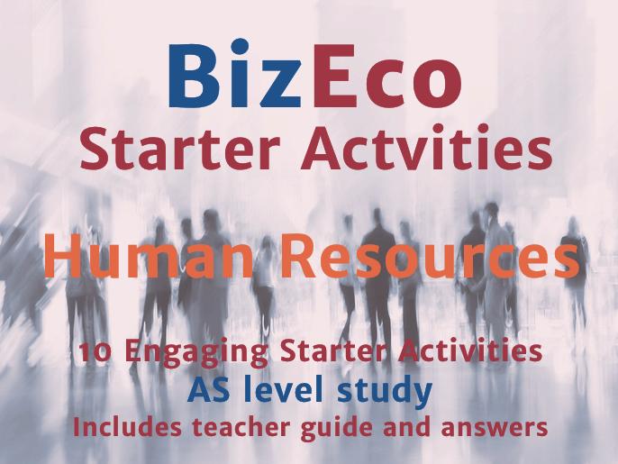 10 Engaging Starter Activities - Human Resources
