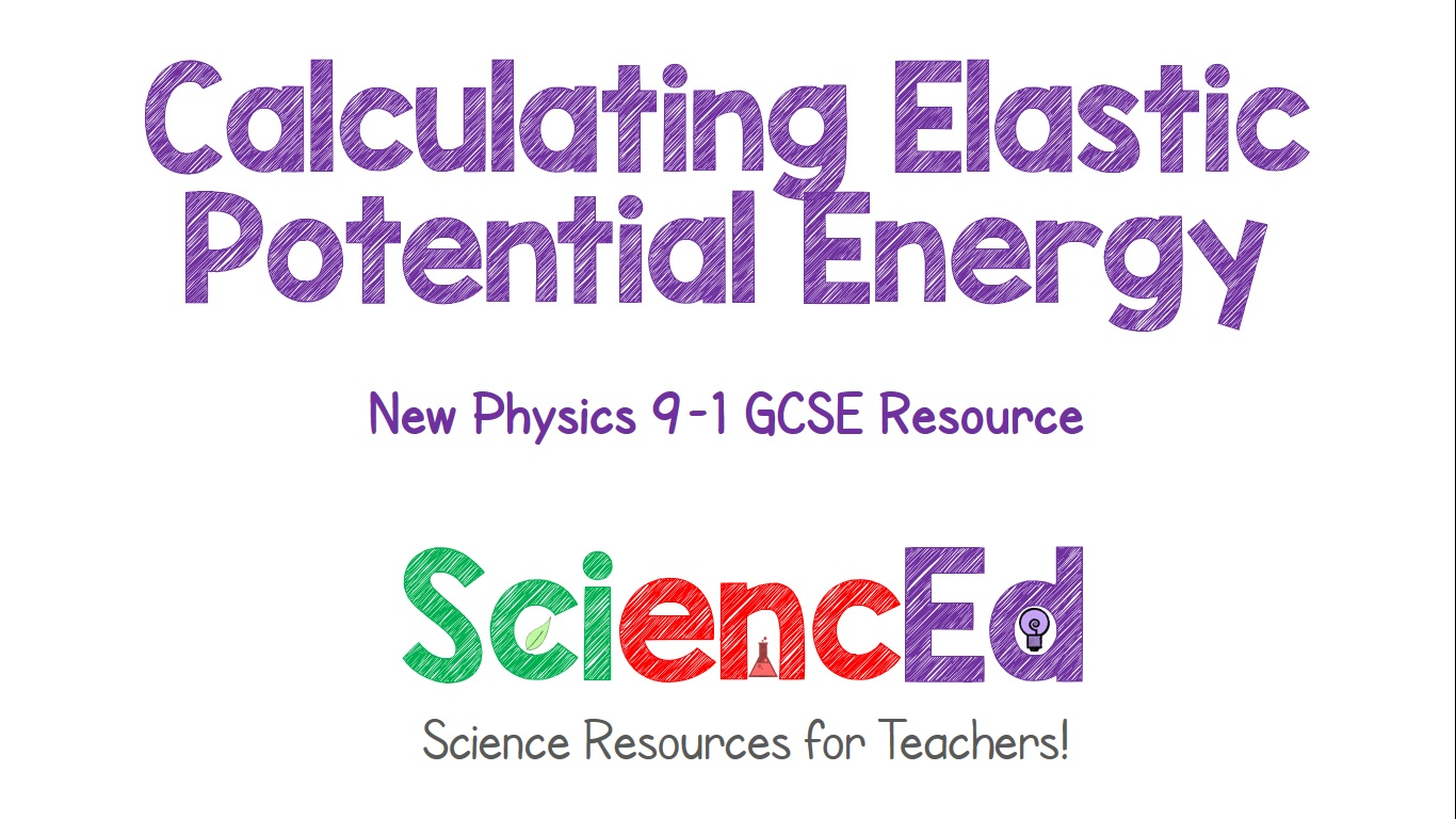 Calculating Elastic Potential Energy  by SciencEd