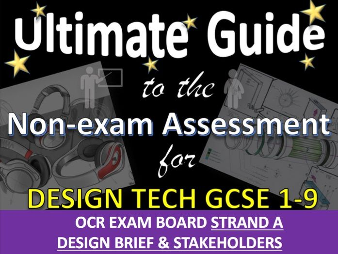 Ultimate Guide to OCR DT GCSE NEA Design Brief Specification Strand 1/A Teacher's