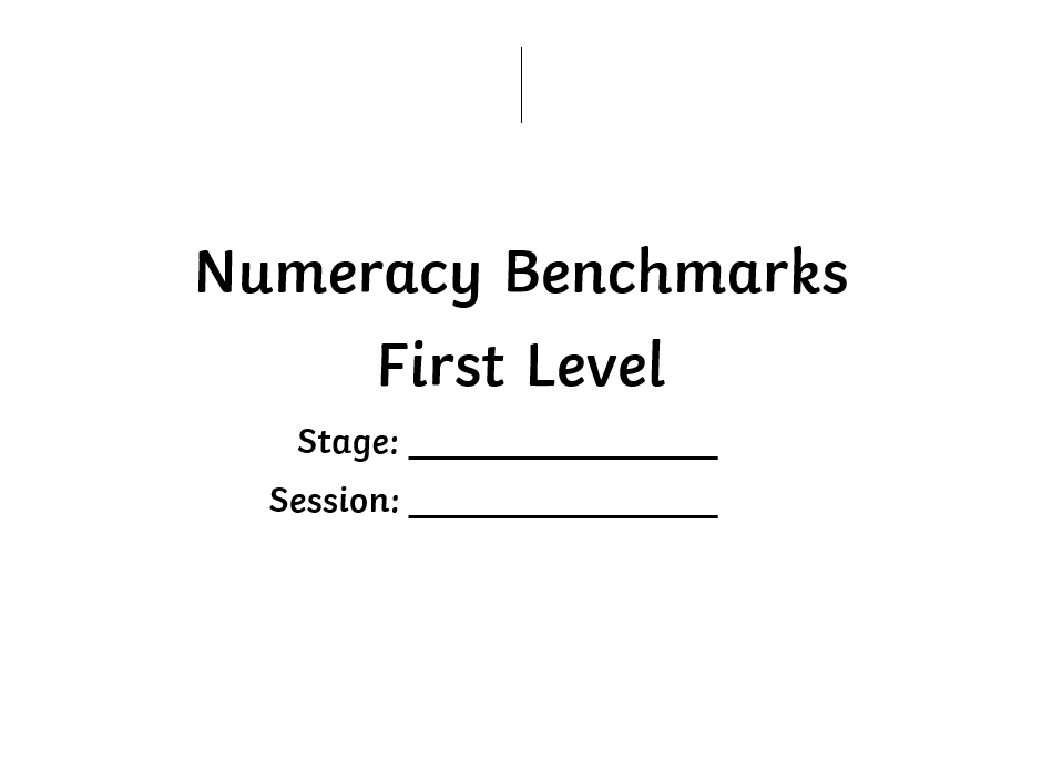 First Level Maths Benchmarks