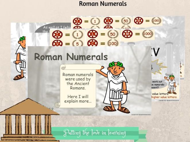 Roman Numerals KS2 Bundle