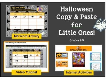 Halloween Copy and Paste It!