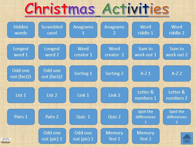 Christmas Activities -fun and educational