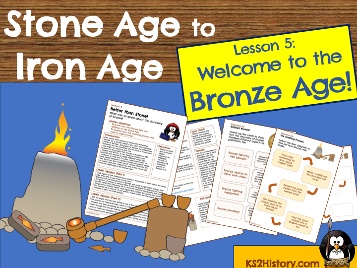 Stone Age to Iron Age Lesson Plan -  Bronze Age Lesson