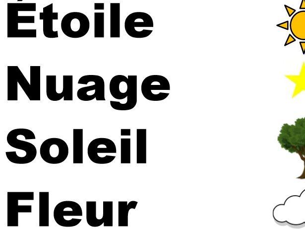 French - Basic vocabulary