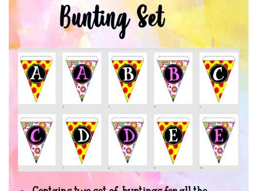 Back to School ( Bunting set )