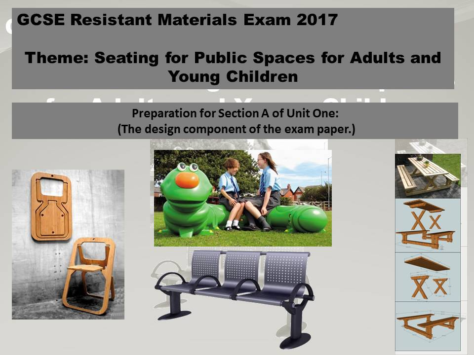 Resistant Materials GCSE (Preparation for Section A of Unit One.)