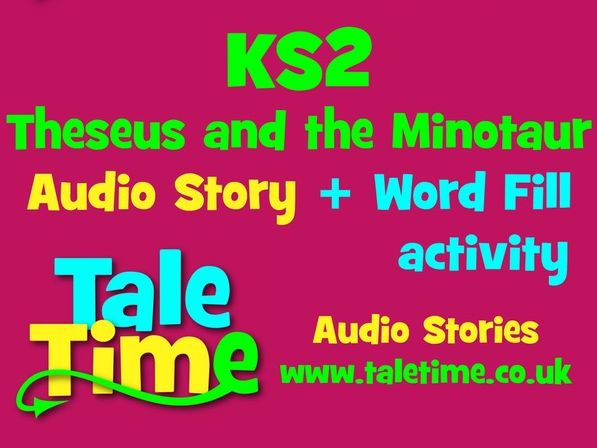 Audio Story + Word Fill: Theseus & the Minotaur