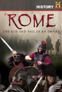 Rome Rise & fall of an Empire Disc 4 Episodes 11-13 WITH ANSWER KEY! : )