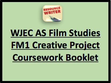 WJEC AS Film Studies Creative Project Coursework Booklet