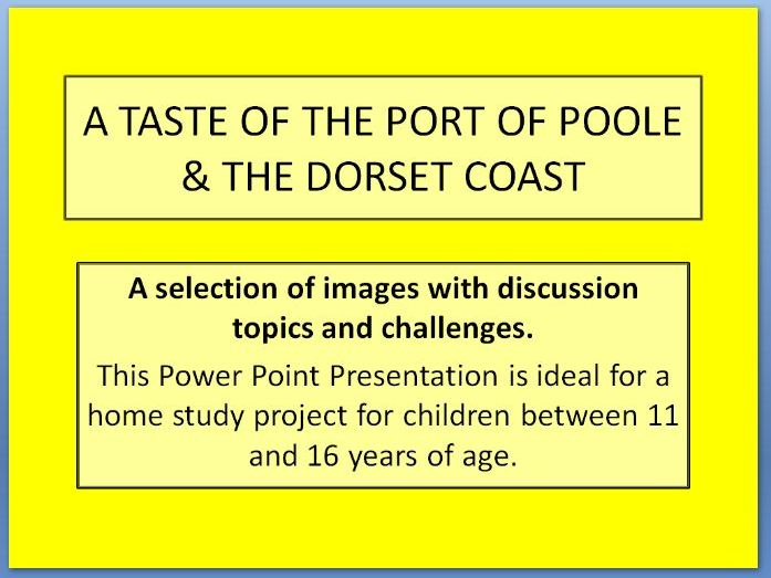 Dorset Coast - A Geographical Home Study Project