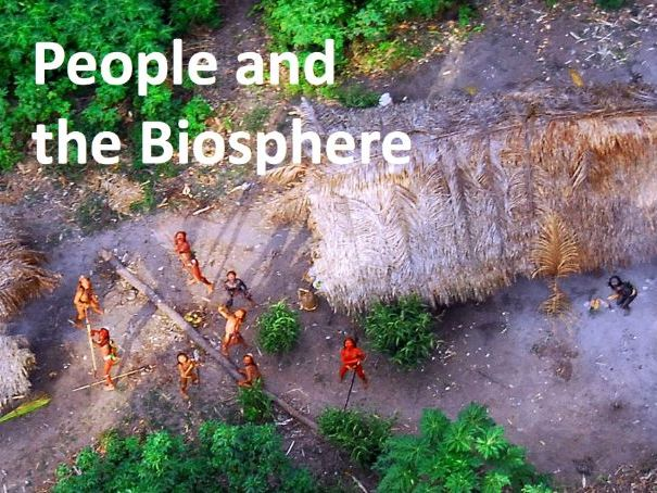 People and the Biosphere