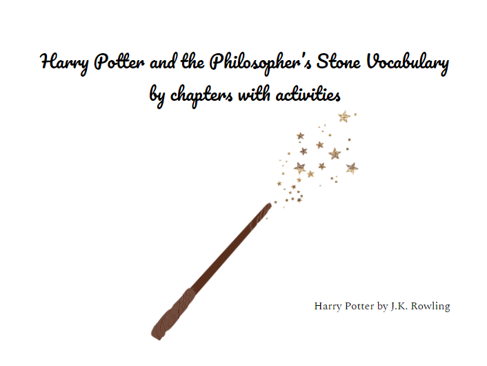Harry Potter and the Philosopher's Stone Vocabulary by chapters