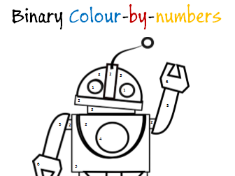 Robot Colour-by-numbers Binary Task - Computer Science