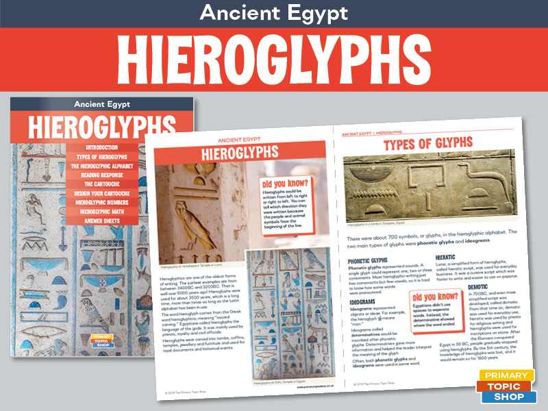 Ancient Egypt - Hieroglyphs