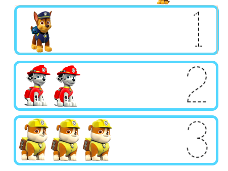 Paw Patrol Maths for Early Years and SEN