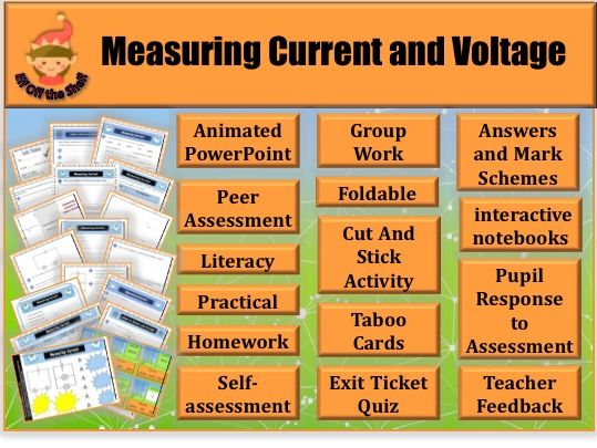 Electricity -Measuring Current and Voltage KS3