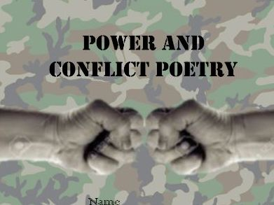 AQA Power and Conflict Revision