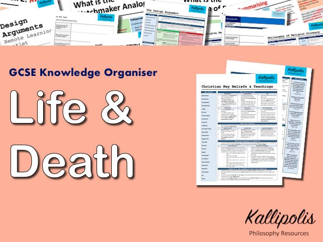 Religion, Life & Death - GCSE Religious Studies (RS) Knowledge Organiser