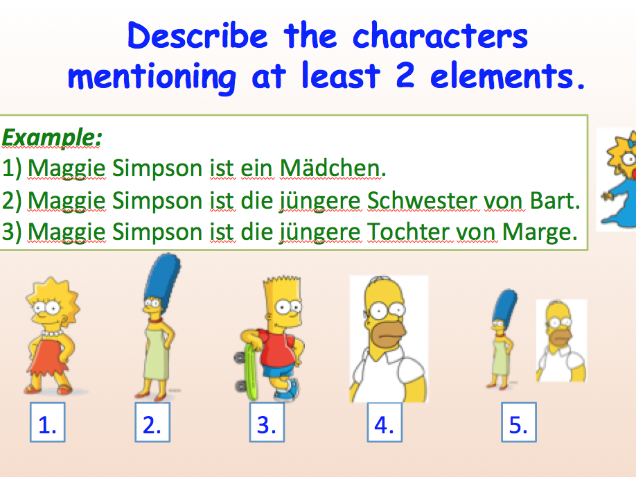 Beginner - German - Die Familie - Suitable for A1 Learners.