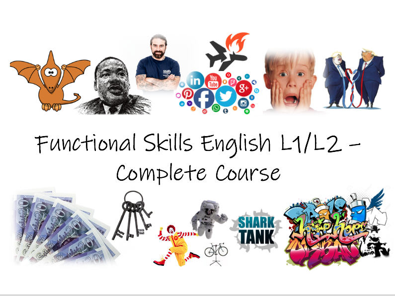 FS English L1/L2 - Complete 18 Lesson Package