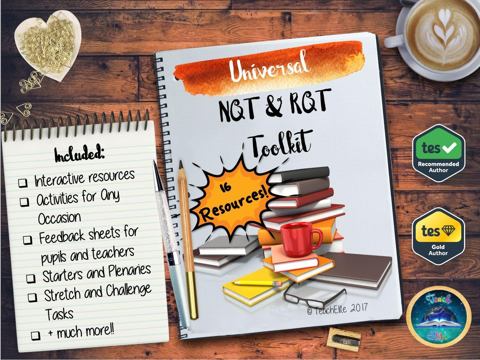 NQT : Newly Qualified Teacher : NQT / RQT Toolkit