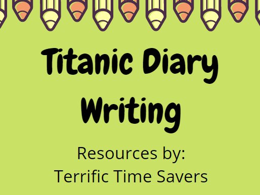 Titanic Diary Writing