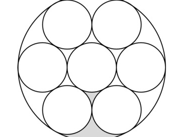 Area of Compound Circles Worksheet