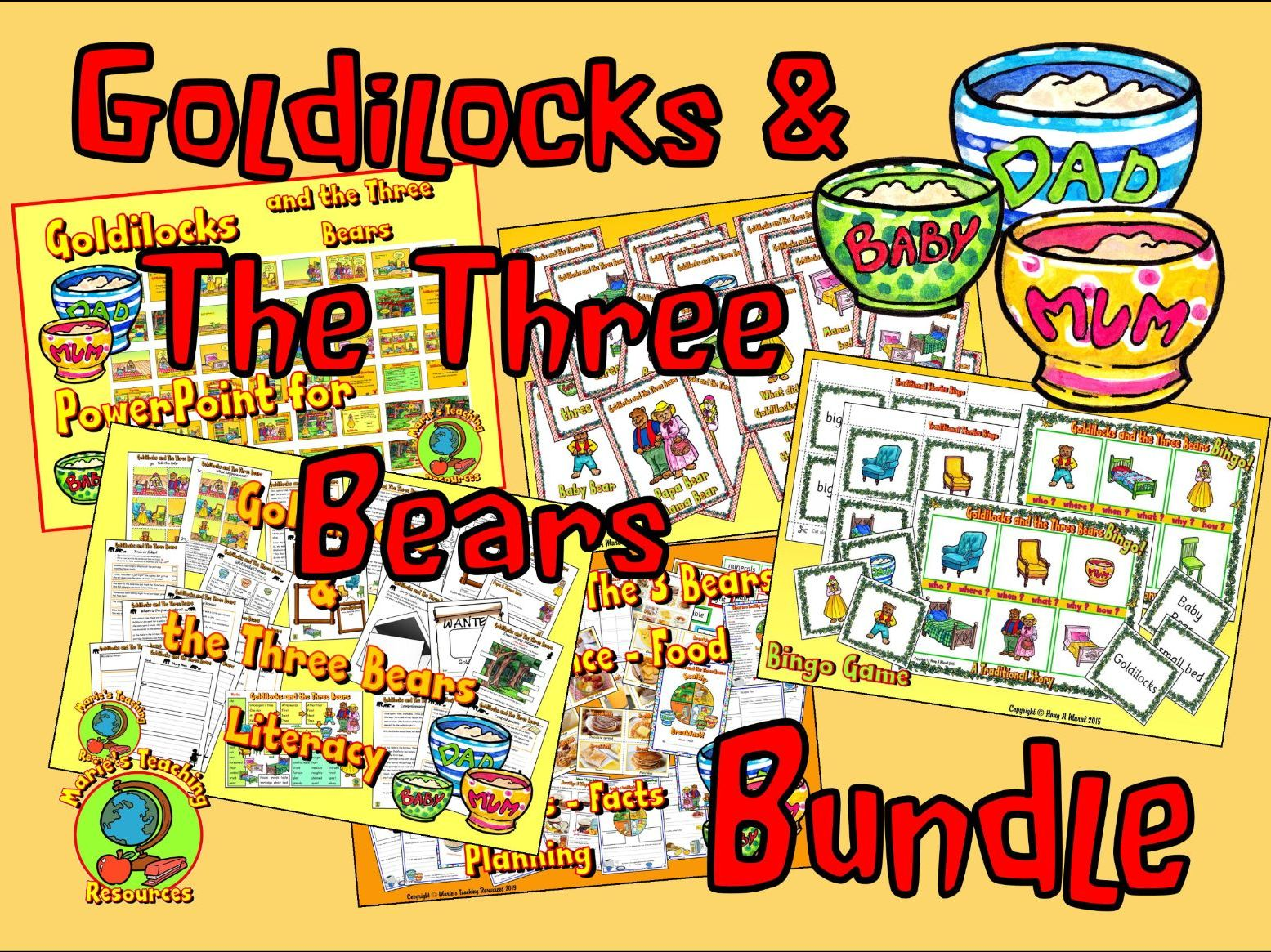 Goldilocks & The Three Bears Bundle