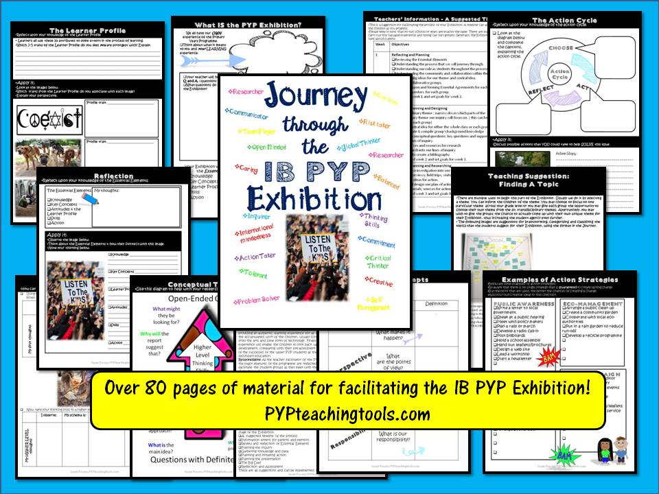 Journey Through the IB PYP Exhibition - A Complete Resource