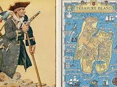 """KS2, KS3, """"Treasure Island"""", John Masefield Poetry"""