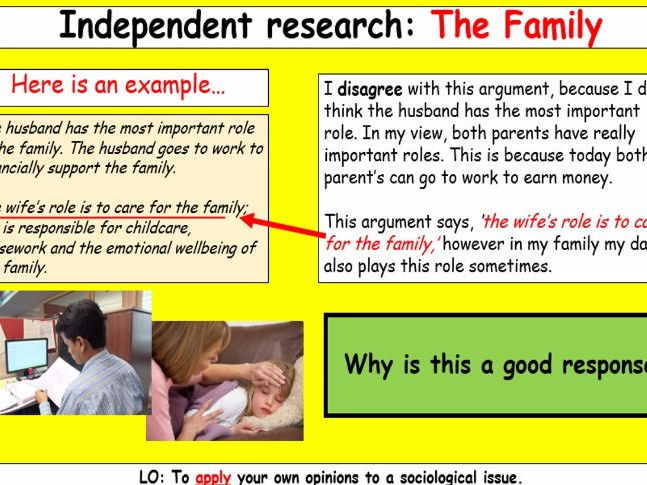 GCSE Introduction to Sociology AQA Whole lesson