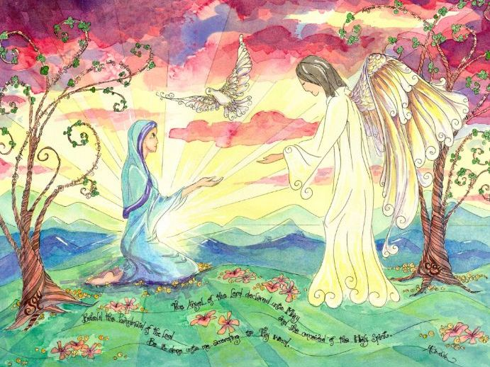 ANNUNCIATION - The Birth of Jesus is announced