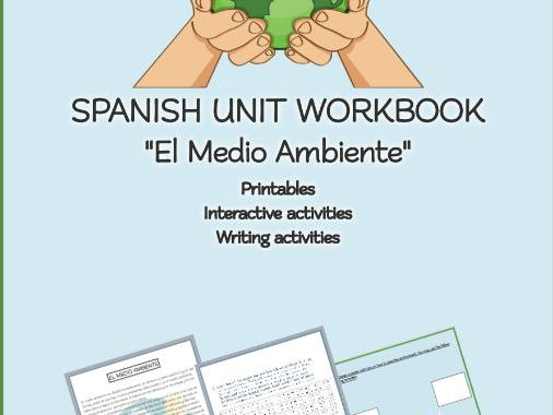 "SPANISH UNIT WORKBOOK ""El Medio Ambiente"""