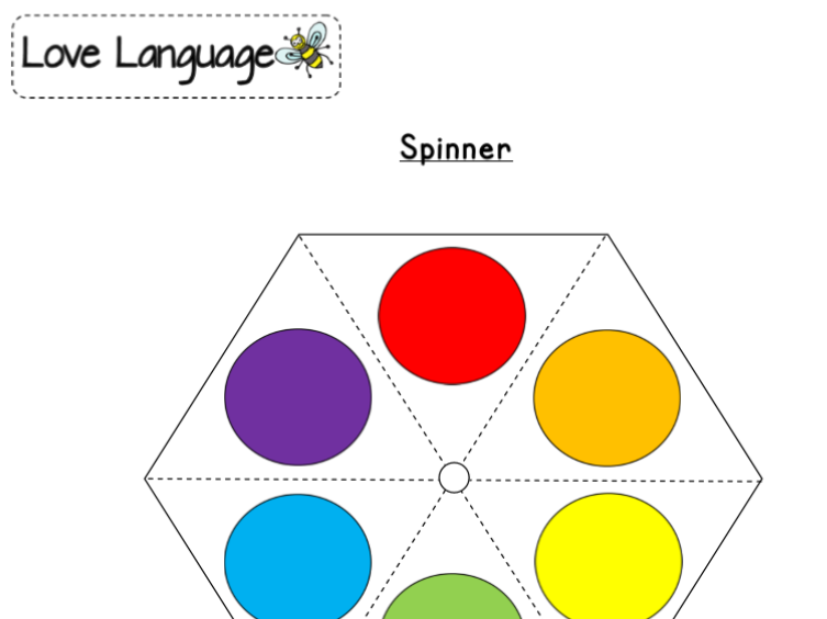 Colours in French - spinners