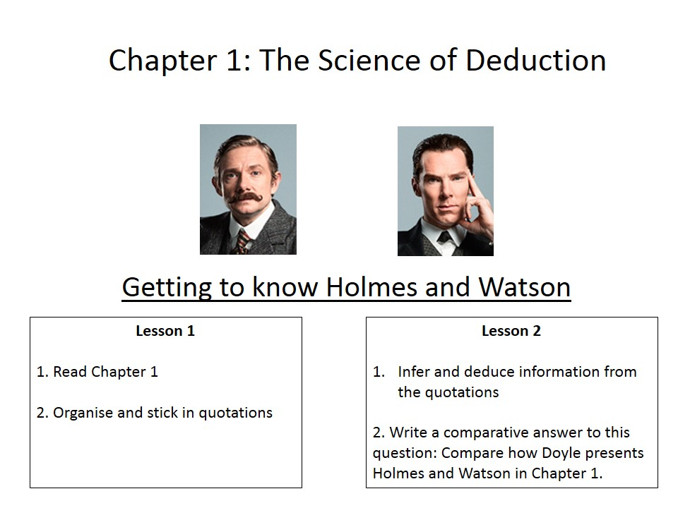 The Sign of Four by Sir Arthur Conan Doyle Scheme of Work