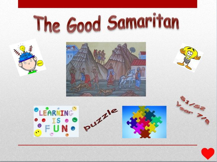 The Good Samaritan puzzle