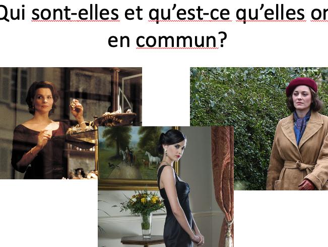 Thunks MFL -Stimulating conversation and encouraging thinking skills. French & Spanish examples