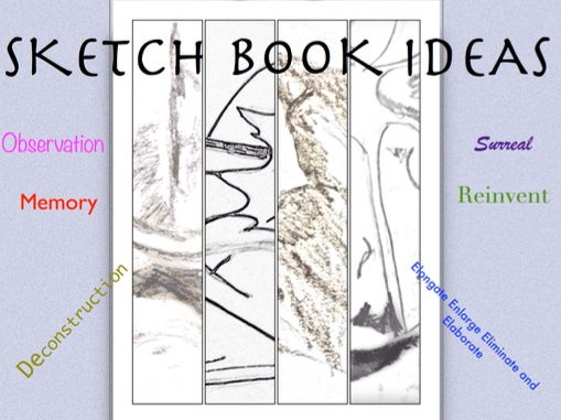 SKETCH BOOK IDEAS