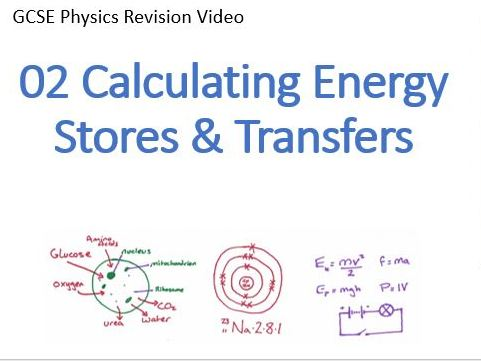 GCSE Physics ENERGY - Calculating Energy Stores & Transfers