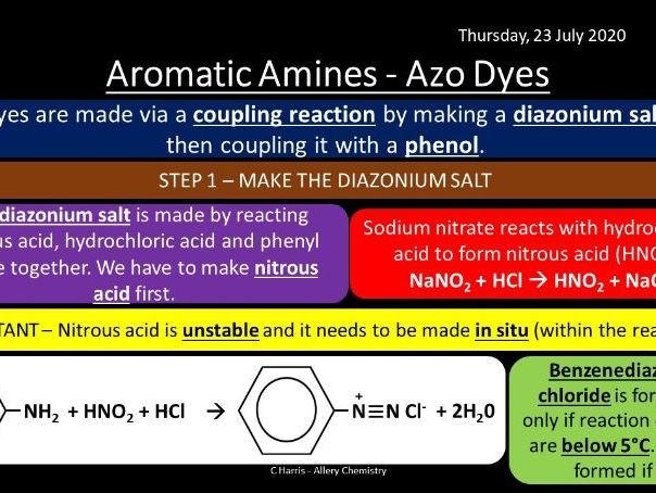 CIE (exams up to 2021) Topic 20 - Nitrogen Compounds Revision