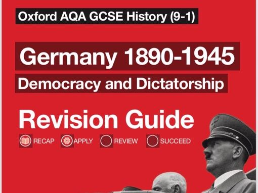 AQA 9-1 History Germany Revision Guide