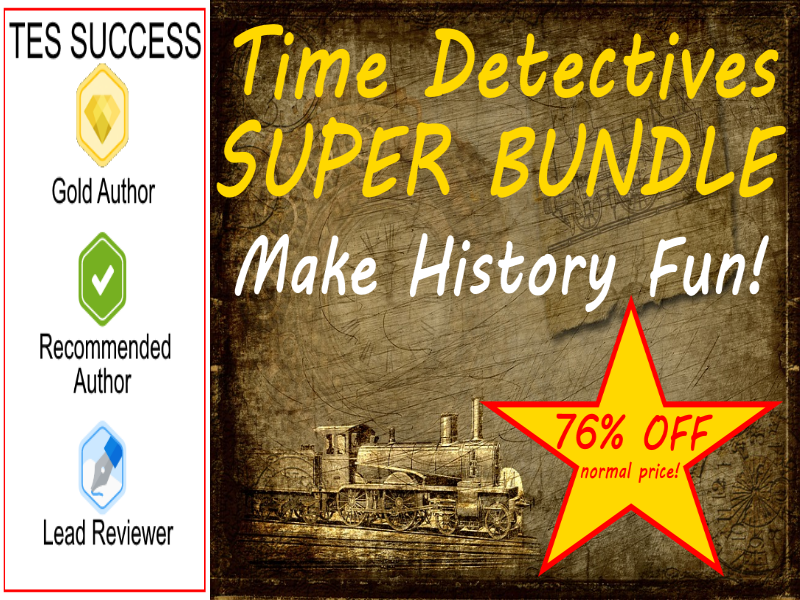 Time Detectives Bundle