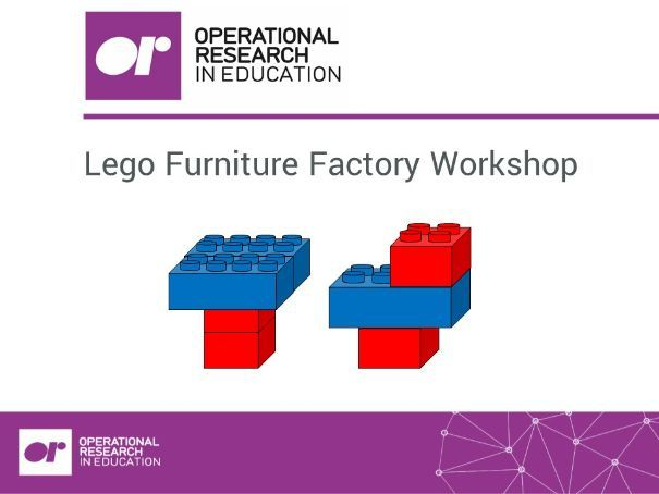 Workshop 1 - Lego Furniture Factory (Linear Programming)