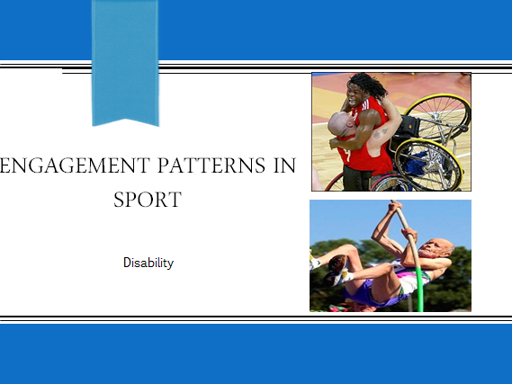 AQA GCSE PE - 1-9 - Engagement Patterns in Sport - Disability