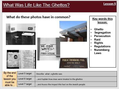 Holocaust 5-7. Ghettos, Einsatzgruppen, Final Solution