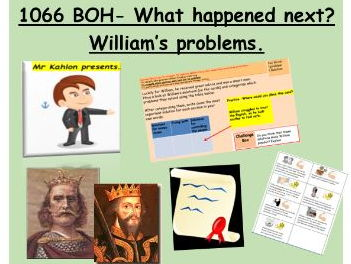 1066 BOH- What happened next? - Problem solving for William Duke of Normandy