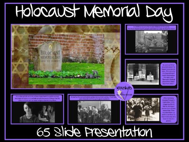 Holocaust Memorial Day / The Holocaust