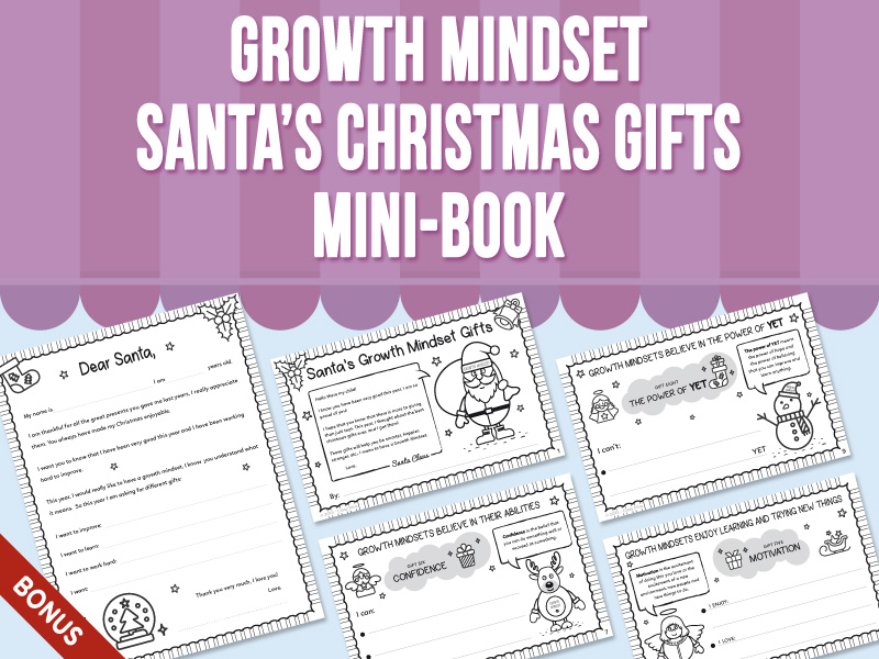 Growth Mindset - Santa's Christmas Gifts